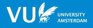 VU Engels blauw logo